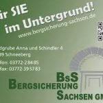 Bergsicherung Sachsen Schneeberg