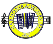 Das Logo des Harmonikaorchesters Iris.